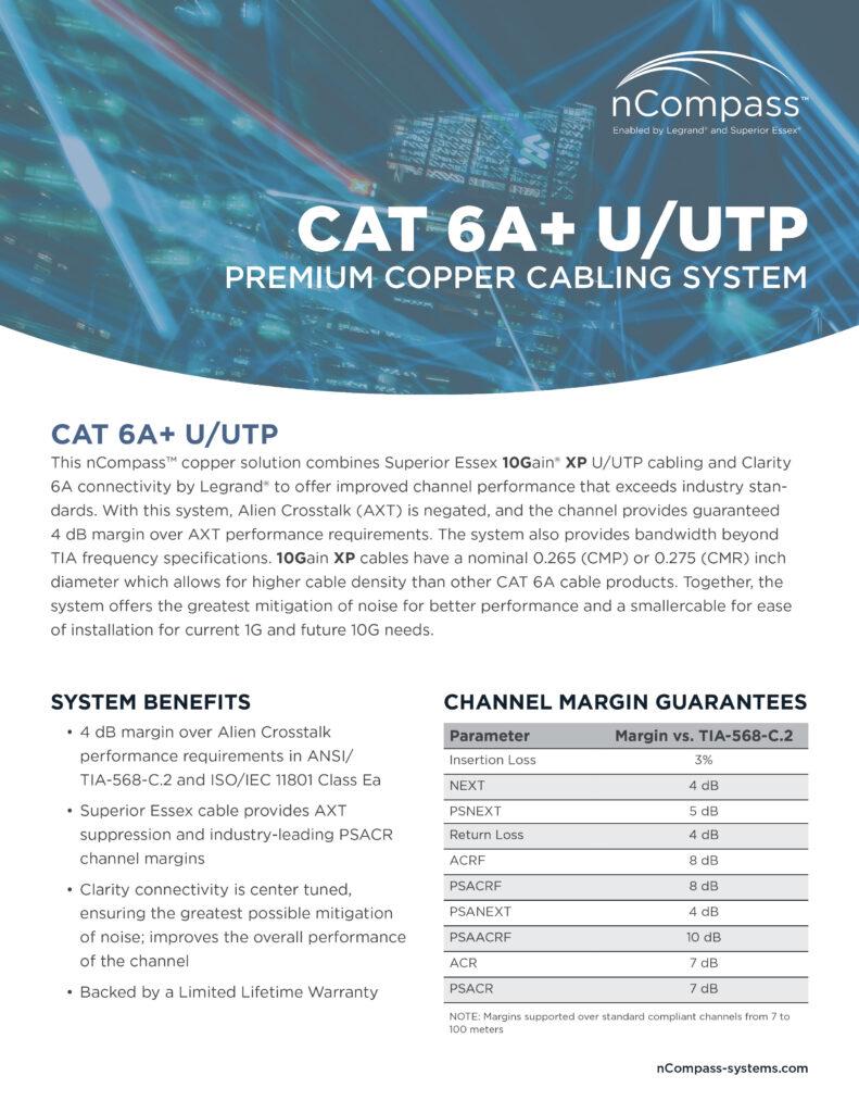 nCompass-CAT6A+UTP-datasheet