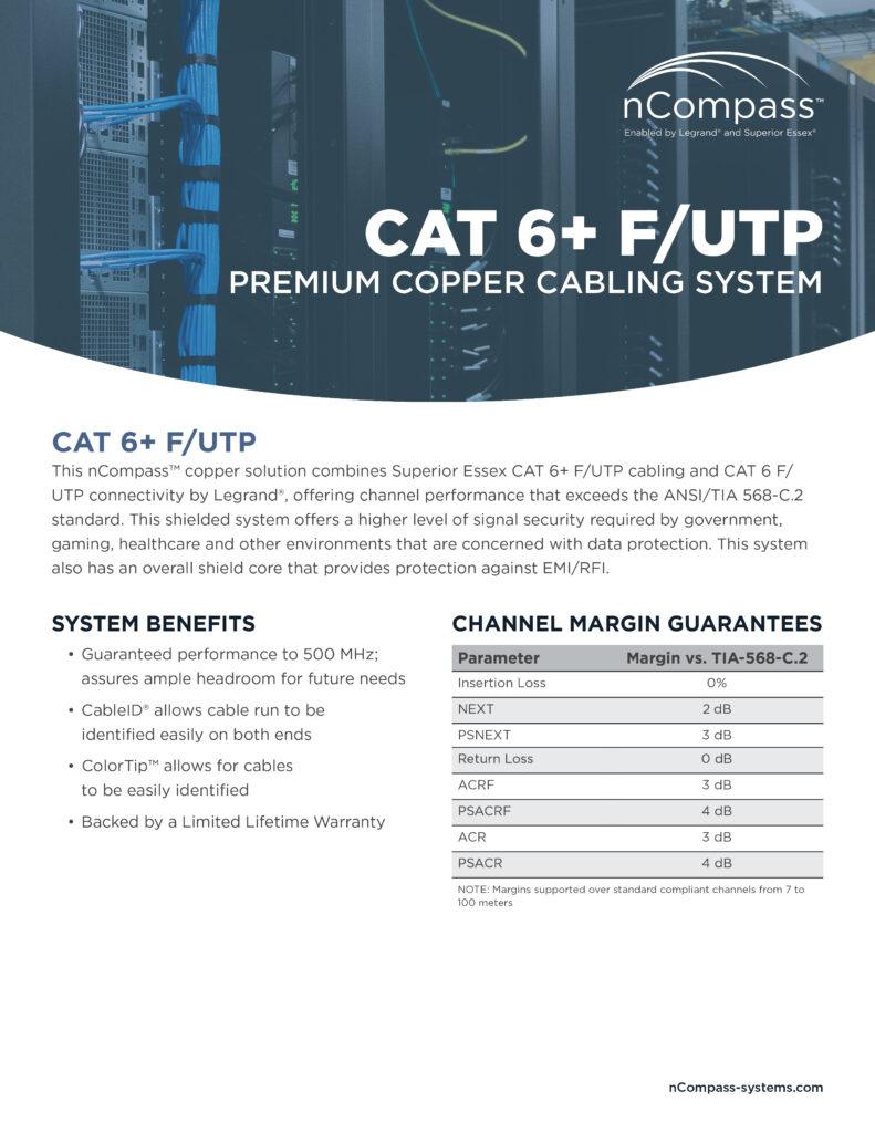 nCompass-CAT6+FUTP-datasheet